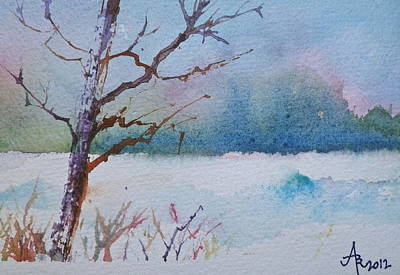 Winter Loneliness Art Print