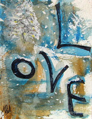 Painting - Winter Love by France Laliberte