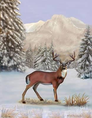 Digital Art - Winter Majesty by Glenn Holbrook