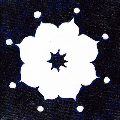 Painting - Winter Mandala by Beth  Cornell