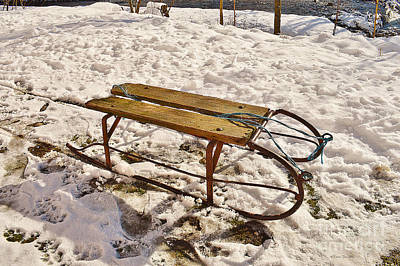Winter Memory Print by Felicia Tica