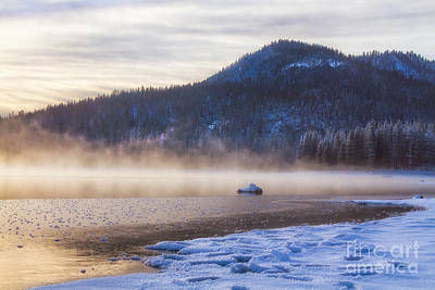 Mist Photograph - Winter Mist by Anthony Bonafede