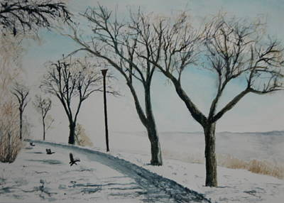 Painting - Winter Mist by Betty-Anne McDonald