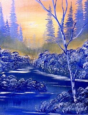 Winter Painting - Winter Mist by Collin A Clarke
