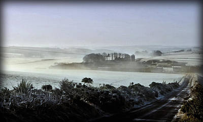 Photograph - Winter Mist by Liz  Alderdice