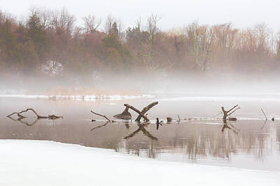 Photograph - Winter Mist by Sara Hudock