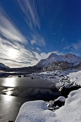 Canon Eos 5d Mark Iii Photograph - Winter Mood In The Arctic by Frank Olsen
