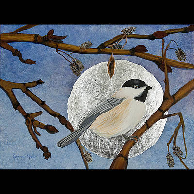 Painting - Winter Moon by Amy Reisland-Speer