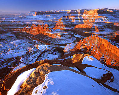 Photograph - Winter Morning In Canyonlands by Ray Mathis