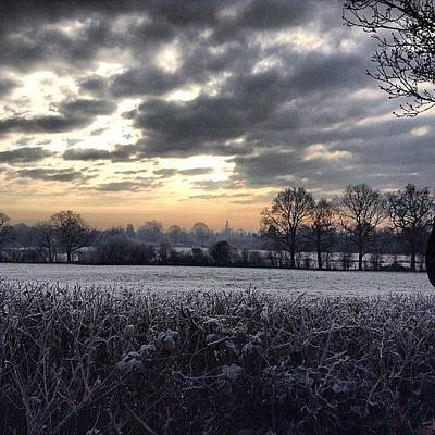 Landscapes Photograph - Winter Morning In Kent by Nic Squirrell