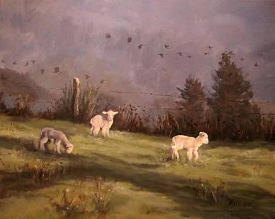 Painting - Winter Morning by Karen Ilari