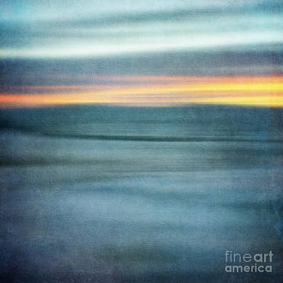 Textured Landscape Photograph - Winter Morning Poem by Priska Wettstein