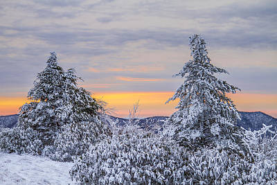 Photograph - Winter Mountain by Jay Huron