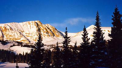 Photograph - Winter Mountain by Thomas Samida