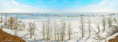 Winter Photograph - Winter Near Harbor Beach by LeeAnn McLaneGoetz McLaneGoetzStudioLLCcom