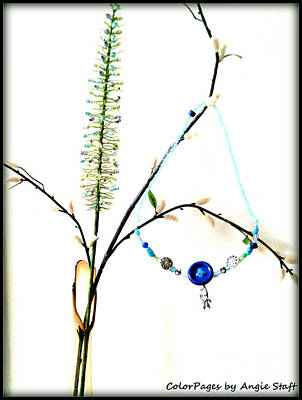 Photograph - Winter Necklace by Angie Staft