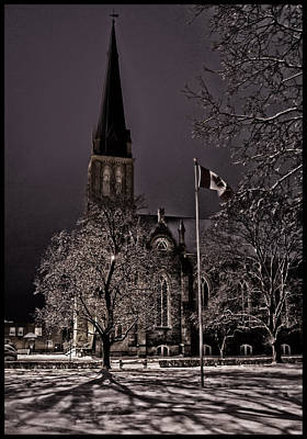 Photograph - Winter Night by Vincent Dwyer