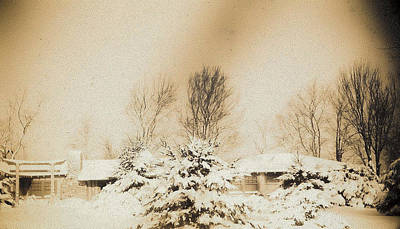 Photograph - Winter Of 1941 by Christy Usilton