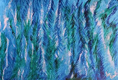 Painting - Winter Of My Son by Gina Bonelli