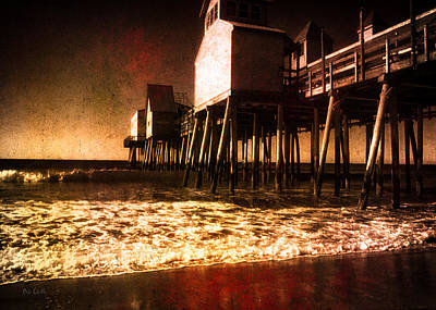 Oob Photograph - Winter Old Orchard Beach by Bob Orsillo