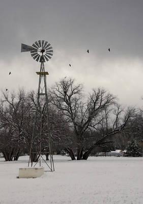 Photograph - Winter On A Farm  by Saija  Lehtonen