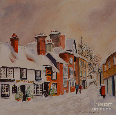 Painting - Winter On The Bayle Folkestone by Beatrice Cloake