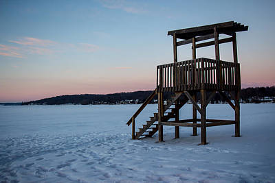 Photograph - Winter On The Beach by Kathleen Scanlan
