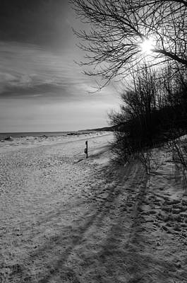 Photograph - Winter On The Beach  by Susan McMenamin