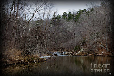 Photograph - Winter On The Eno River At Fews Ford by Sandra Clark