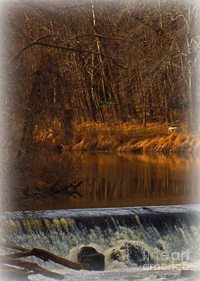 Photograph - Winter On The Eno by Sandra Clark