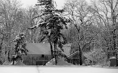 Photograph - Winter On The Farm by Thomas Fouch
