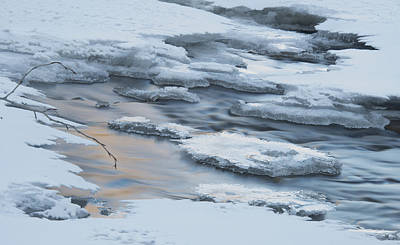 Photograph - Winter On The River by Philip Rispin