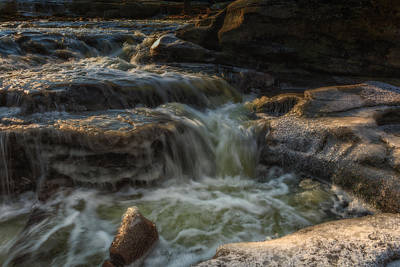 Metro Park Photograph - Winter On The Rocky River 1 by Michael Demagall
