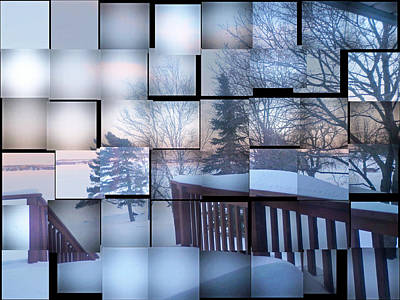 Photograph - Winter Panes  by Pema Hou