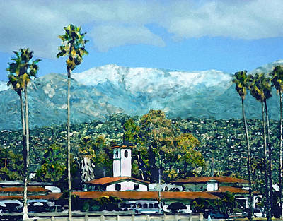 Photograph - Winter Paradise Santa Barbara by Kurt Van Wagner