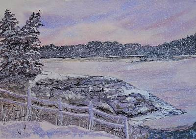 Winter Passion Art Print by Kellie Chasse