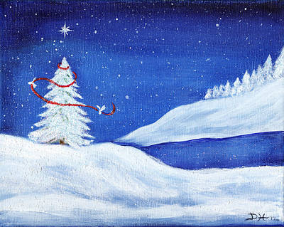 Painting - Winter Peace by Diana Haronis