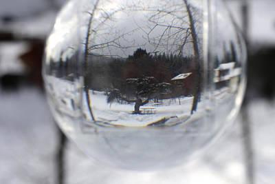 Photograph - Winter Picnic Spot by Cathie Douglas