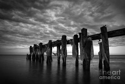 Photograph - Winter Pier by Matt  Trimble