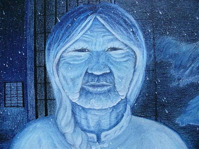 Painting - Winter Portrait by Jacquelyn Roberts