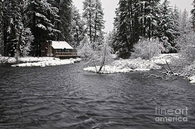 Photograph - Winter Postcard by Stuart Gordon