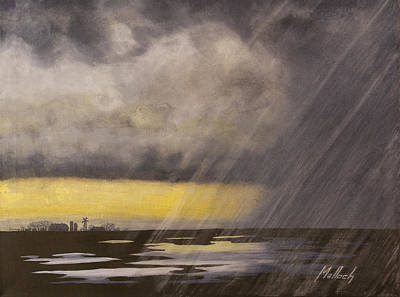 Painting - Winter Rain by Jack Malloch