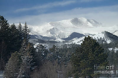 Steven Krull Royalty-Free and Rights-Managed Images - Winter Ranch by Steven Krull