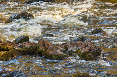 Photograph - Winter Rapids by Carolyn Marshall
