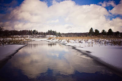Photograph - Winter Reflections by Sara Frank