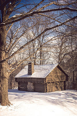 Winter Retreat Art Print