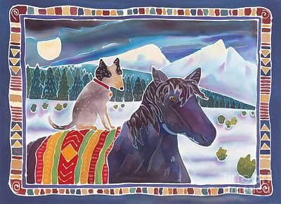 Winter Ride Art Print by Harriet Peck Taylor