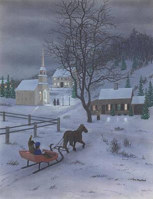 Painting - Winter Ride by Peter Rashford