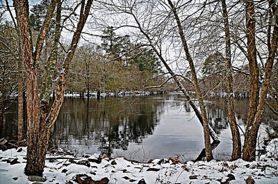 Photograph - Winter River by Linda Brown