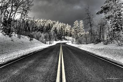 Photograph - Winter Road by David Andersen